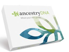 DNA testing ancestry kit